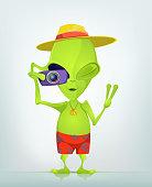 Funny Alien