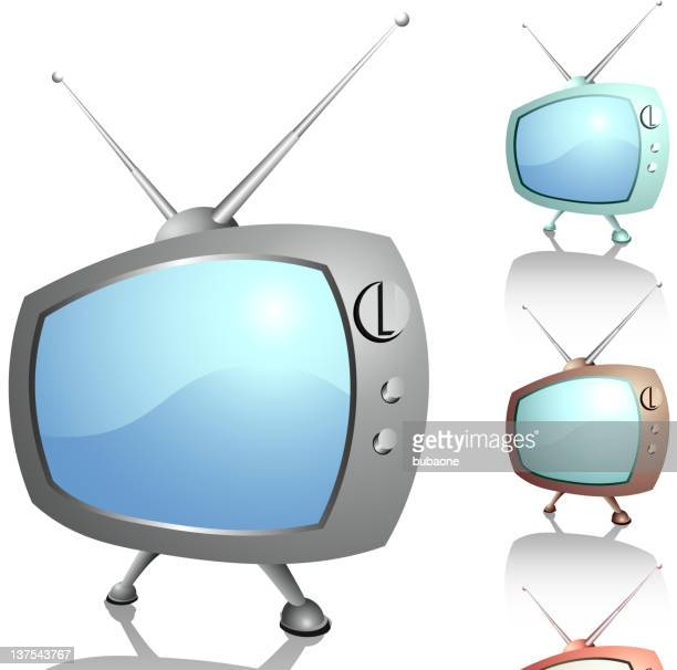 funny pictures of old televisions - television aerial stock illustrations, clip art, cartoons, & icons