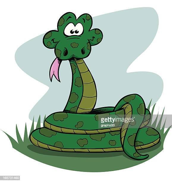 Funny snake.