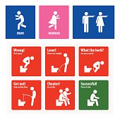 Funny Toilet Signs Creative Signboards