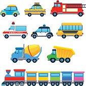 Funny vehicles