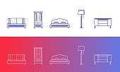 5 furniture and home decor icons