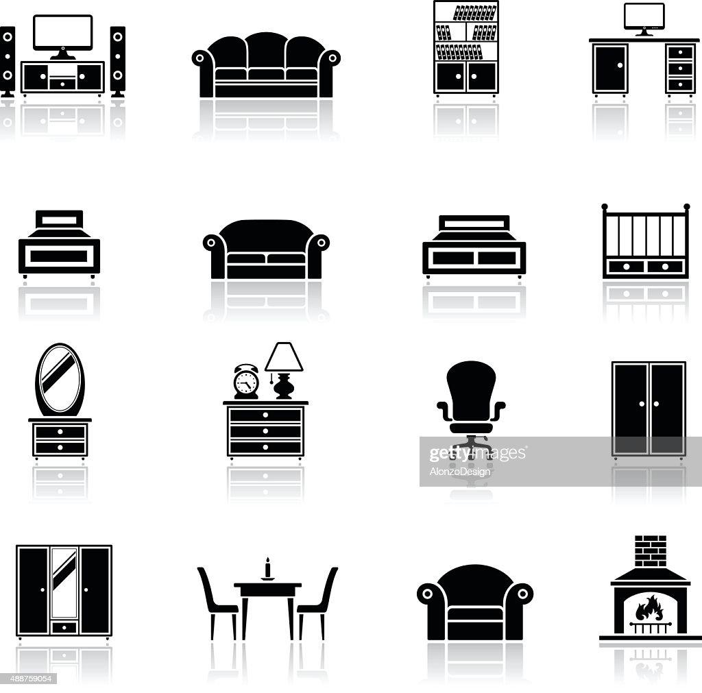 Furniture Icon Set