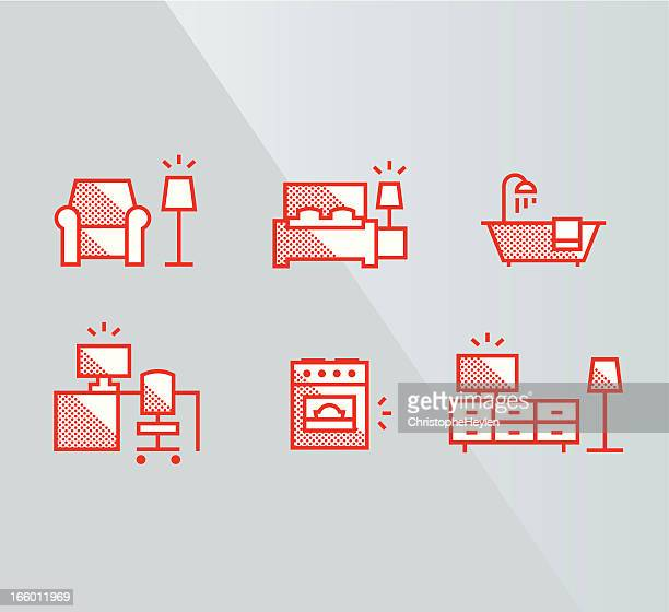 Furniture icons – interior