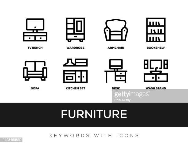 Furniture Keywords With Icons