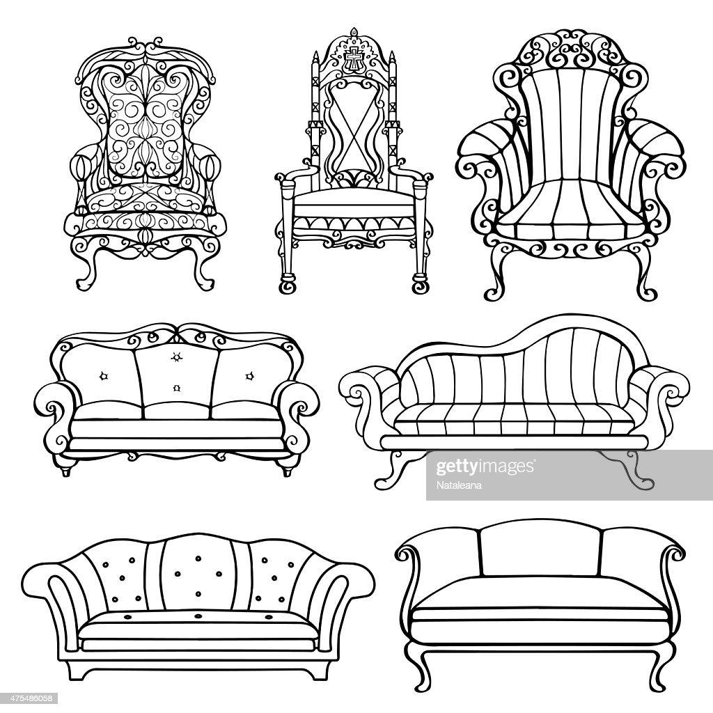 Furniture vintage set