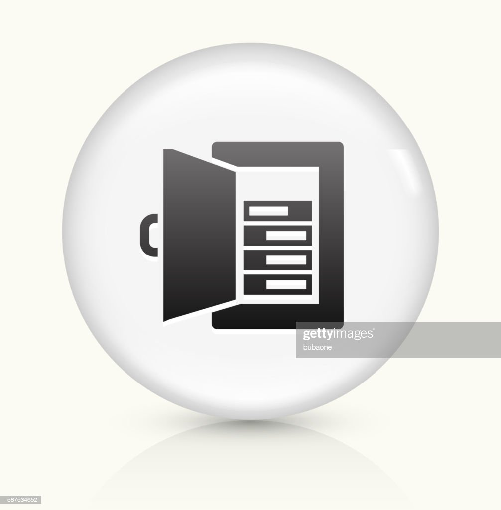 fuse box vector art and graphics getty imagesfuse amps icon on white round vector button