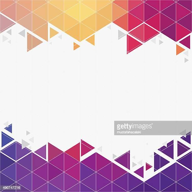 Hexagone futuriste fond avec espace de copie