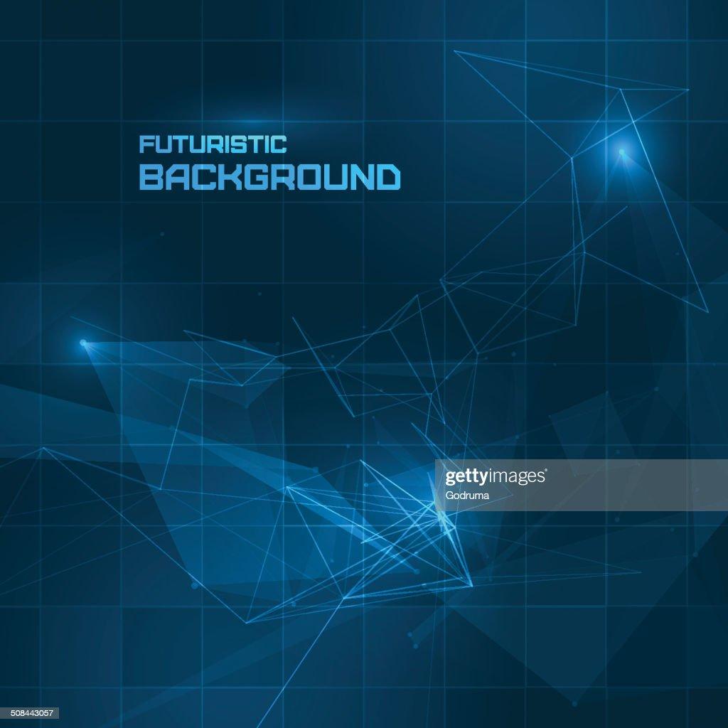 Futuristic HUD background