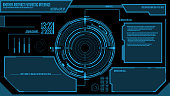 Futuristic Loading Interface