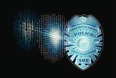 Futuristic Police Badge