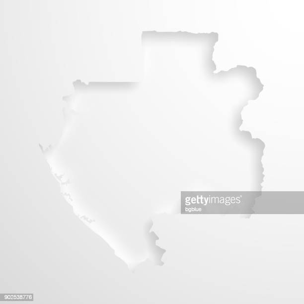 Libreville Stock Illustrations And Cartoons Getty Images - Gabon blank map