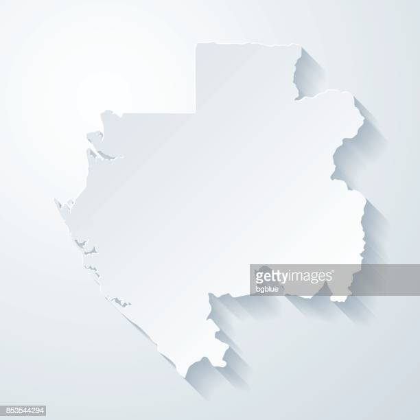 Gabon Stock Illustrations And Cartoons Getty Images - Gabon blank map