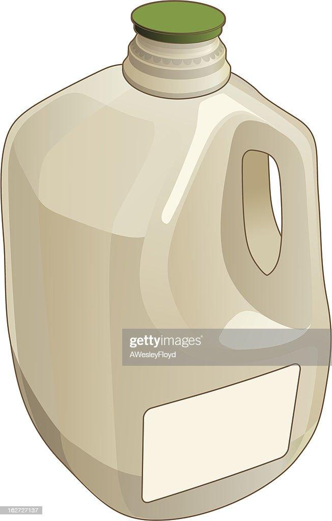 A gallon sized jug illustration