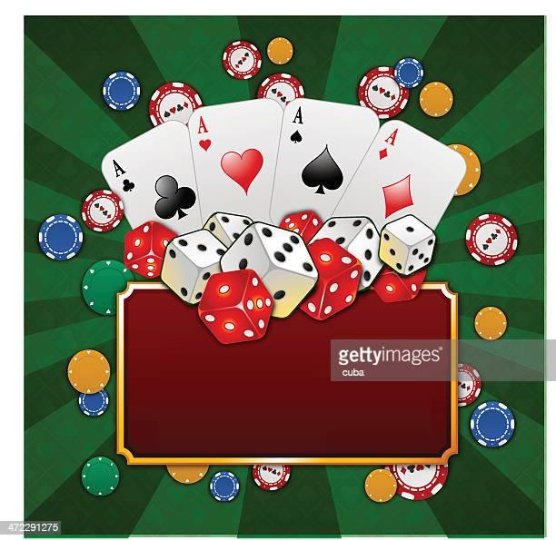 Gambling frame composition