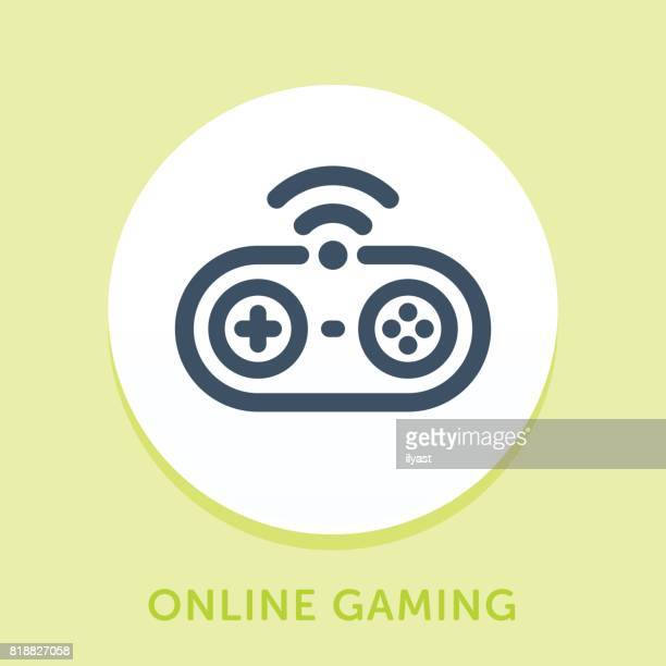 Game Controller Curve Icon