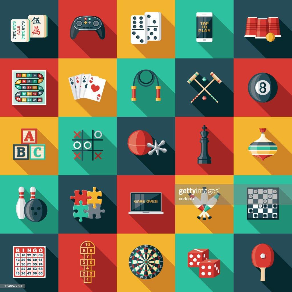 Game Icon Sets : stock illustration