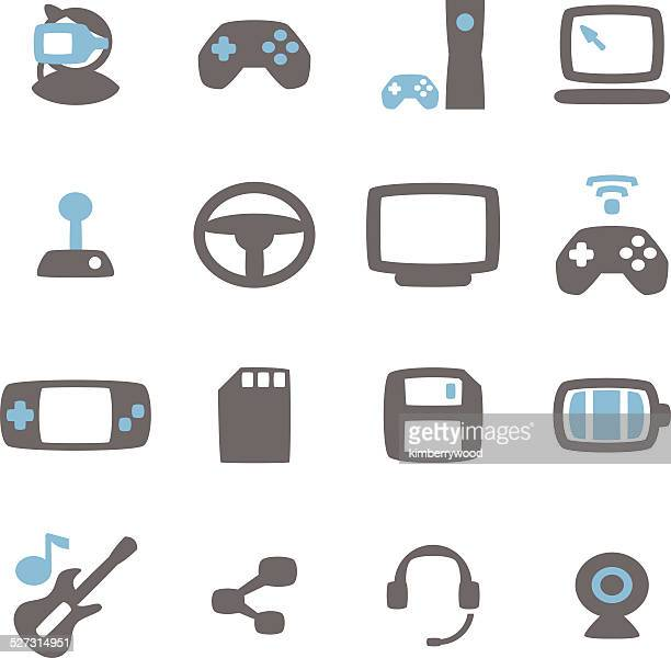 game icon - desk toy stock illustrations, clip art, cartoons, & icons