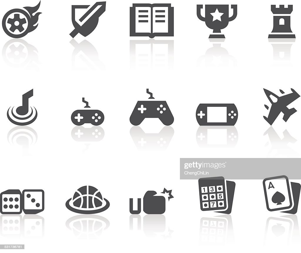 Game Icons | Simple Black Series