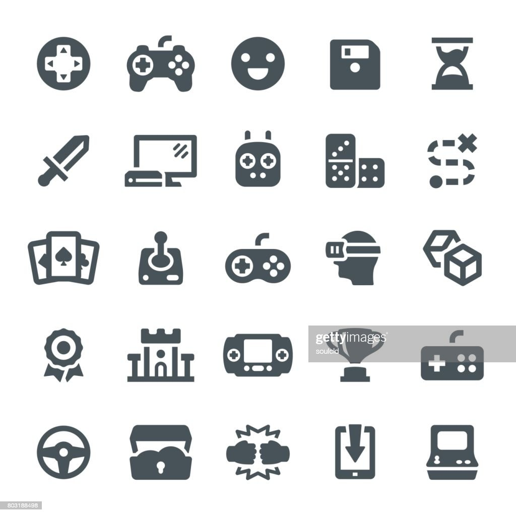 Game Icons : stock illustration