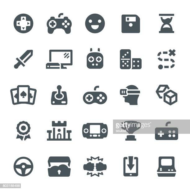game icons - floppy disk stock illustrations, clip art, cartoons, & icons