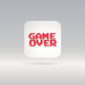 Game over, icon
