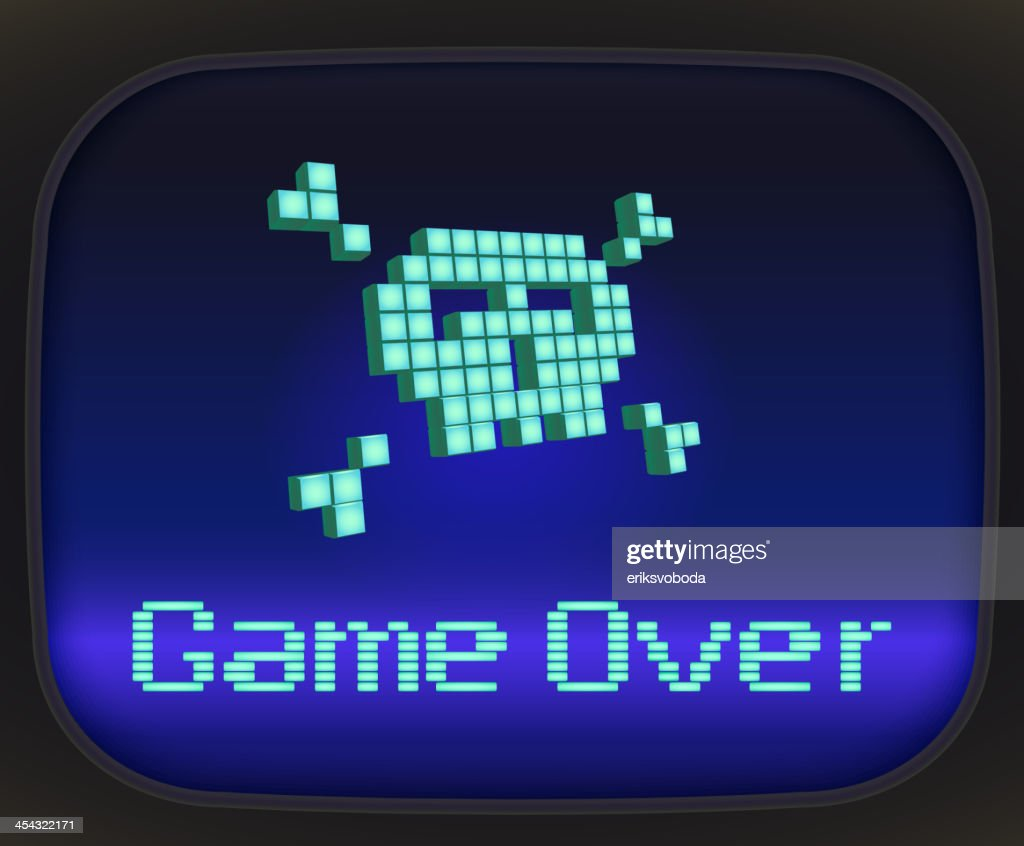 Game over, pixel