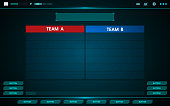 Game ui technology interface hud abstract design for digital business