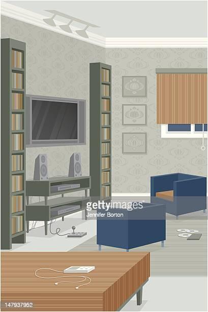 gameroom - blinds stock illustrations, clip art, cartoons, & icons