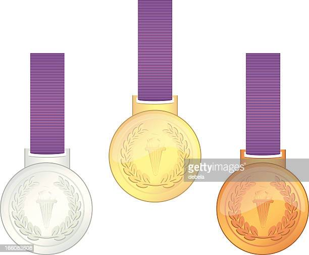 uk . games champions' medals - sport torch stock illustrations, clip art, cartoons, & icons