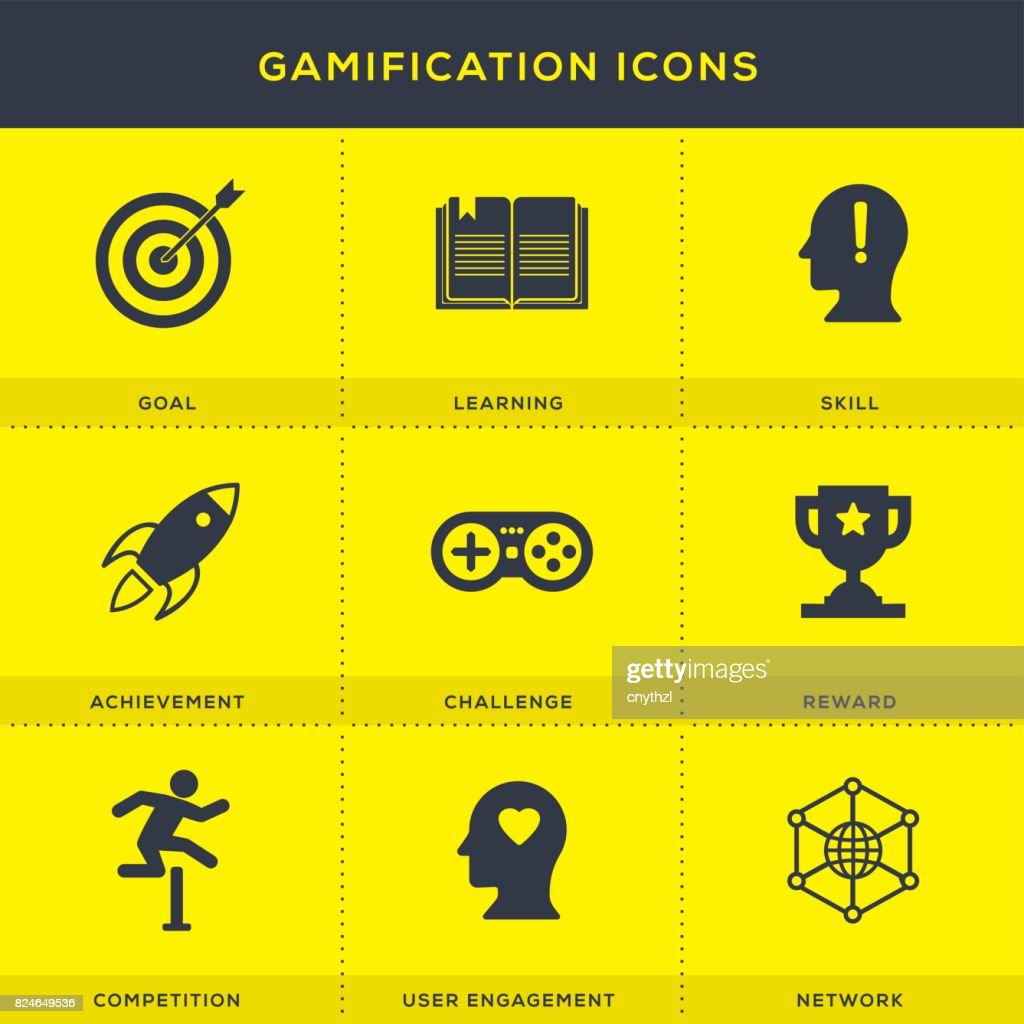Gamification Icons Set