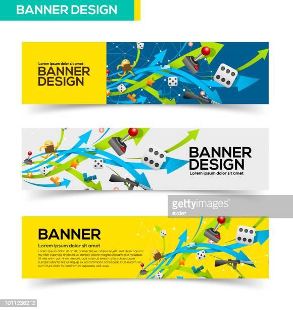 Gaming banner design