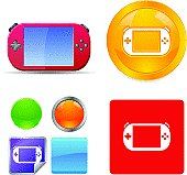 Gaming Gadget Vector Icons