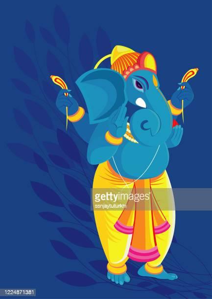 ganesha - ganesha stock illustrations