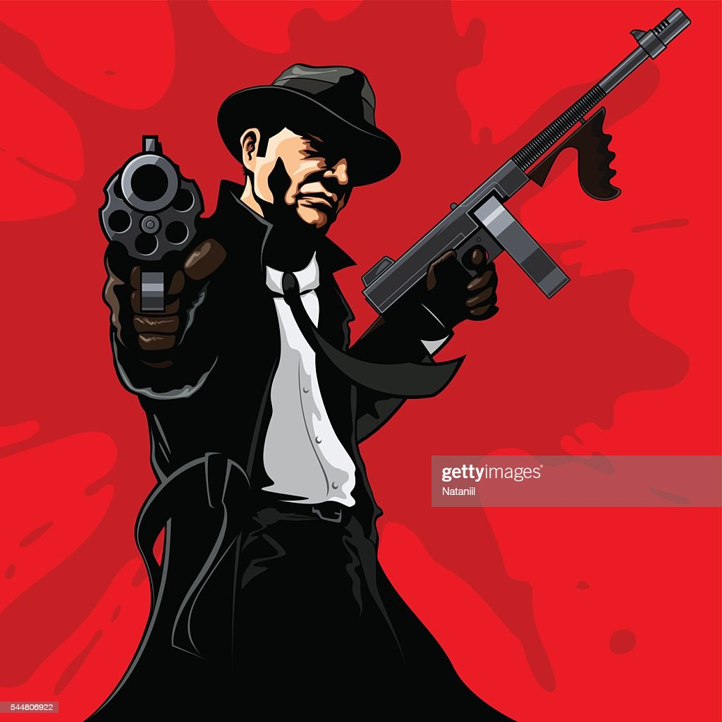 Gangster High-Res Vector Graphic - Getty ImagesGangsta Artwork