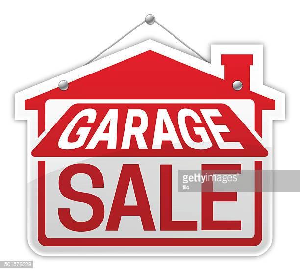 ilustraciones, imágenes clip art, dibujos animados e iconos de stock de venta de garaje - venta de garaje