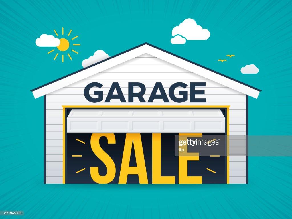 Garage Sale : stock illustration