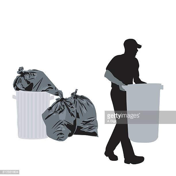 ilustrações de stock, clip art, desenhos animados e ícones de dia do lixo - gari