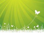 Garden Background - Green