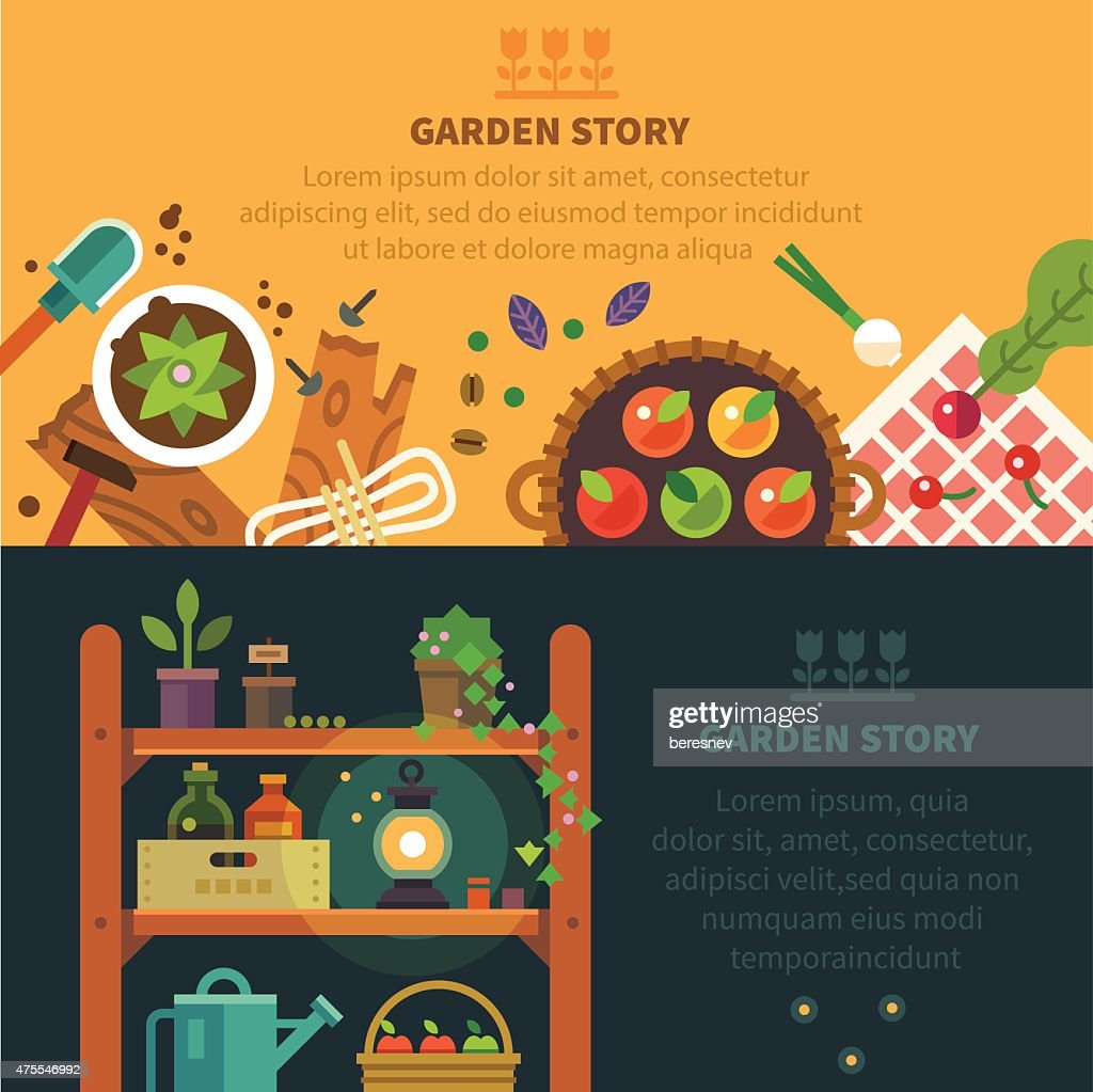 Garden backgrounds for site