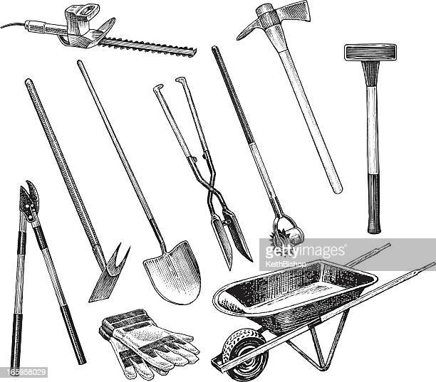 Sledgehammer stock illustrations and cartoons getty images for Gardeners trimming tool