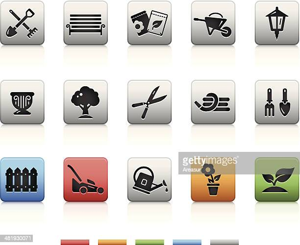 Garden & Gardening Icons | Square