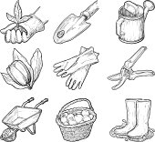 Garden tools and things