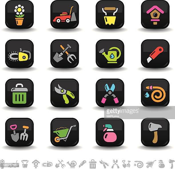 Gardening icons | bbton series