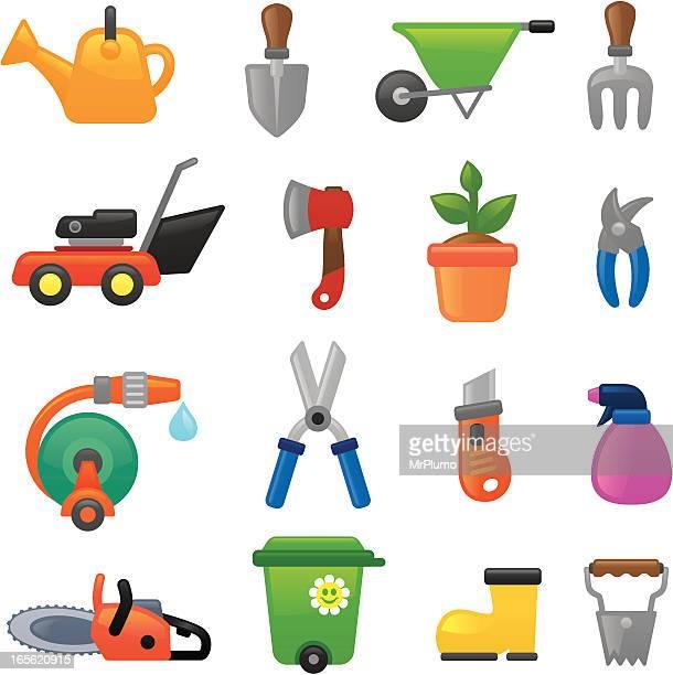 Gardening  icons | smoso series