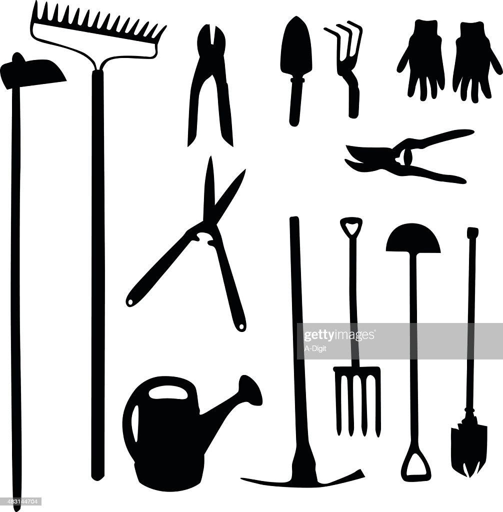 Gardening Tools Vector Art Getty Images