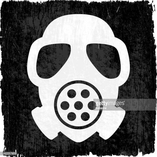ilustraciones, imágenes clip art, dibujos animados e iconos de stock de máscara de gas en vectoriales sin royalties de fondo - tear gas