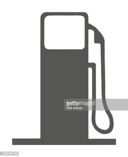gas pump - fuel pump stock illustrations, clip art, cartoons, & icons