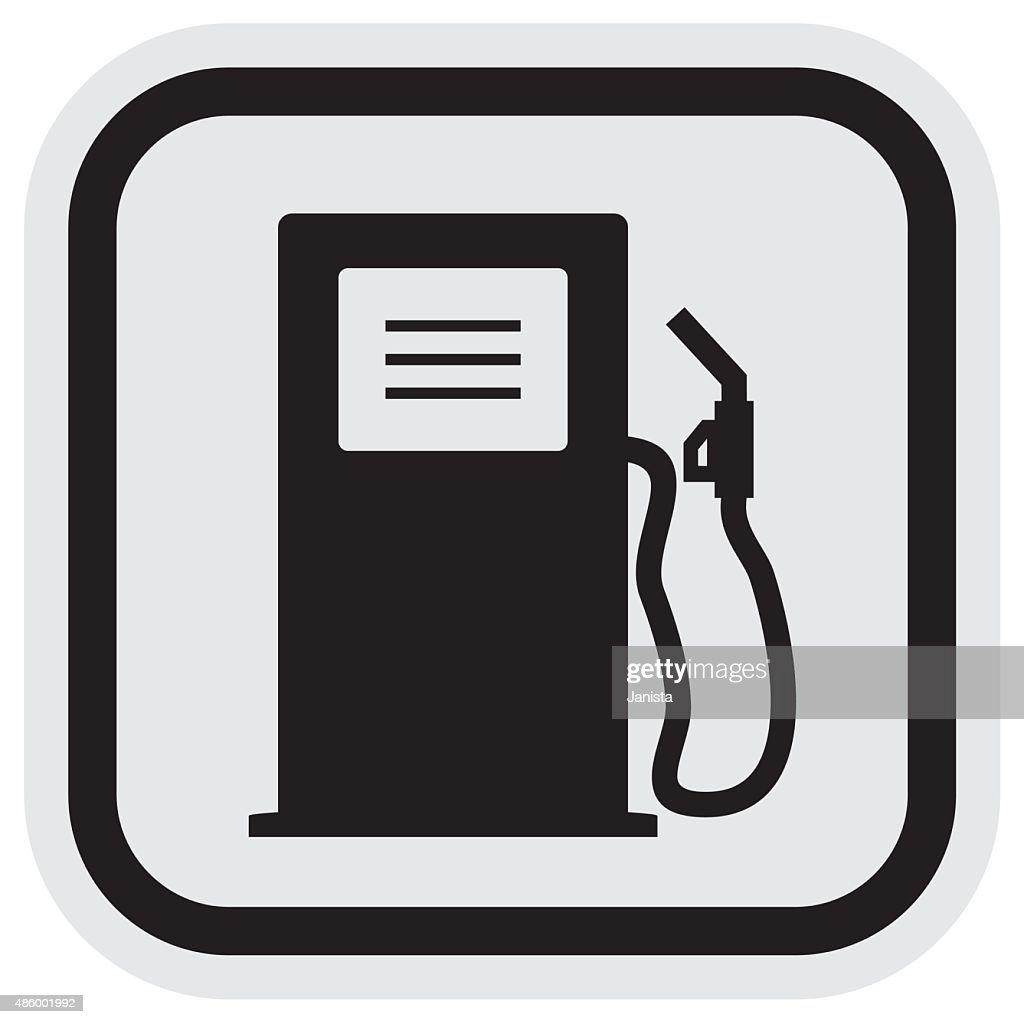 gas station, frame