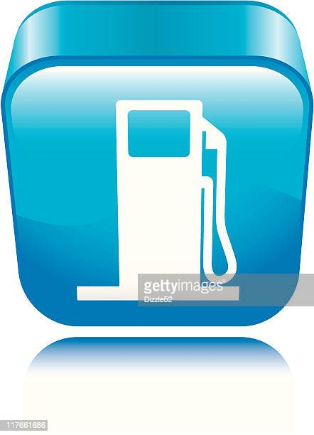 gas station icon - gas prices stock illustrations, clip art, cartoons, & icons
